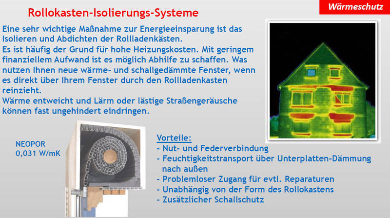 Wärmeschutz | Isolierungs-Systeme | Moskito Moers