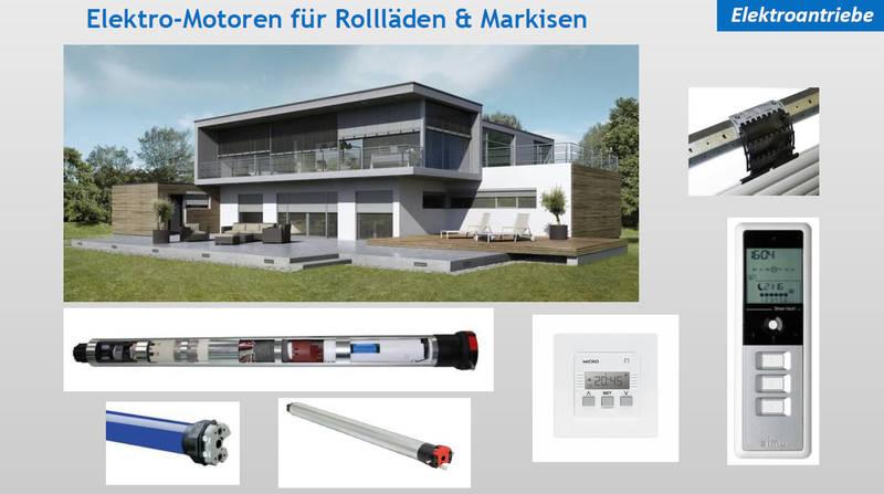 Elektromotoren Rollläden & Markisen | Moskito Moers