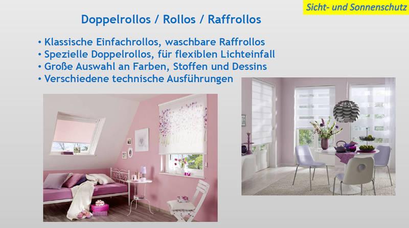 Sichtschutz & Sonnenschutz Rollos, Doppelrollos & Raffrollos | Moskito