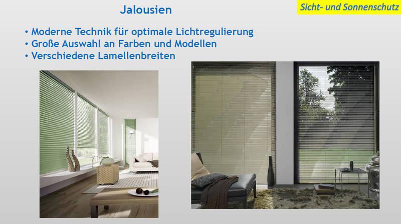 Sichtschutz & Sonnenschutz Jalousien | Moskito Moers