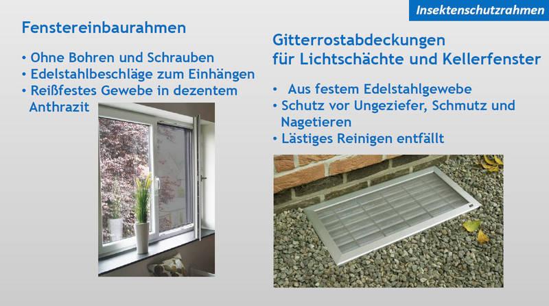 Insektenschutz für Fenster & Gitterrost | Moskito Moers